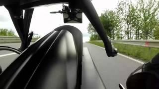 Street Triple - vue arrière