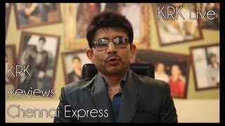 Chennai Express Review by KRK | KRK Live | Bollywood