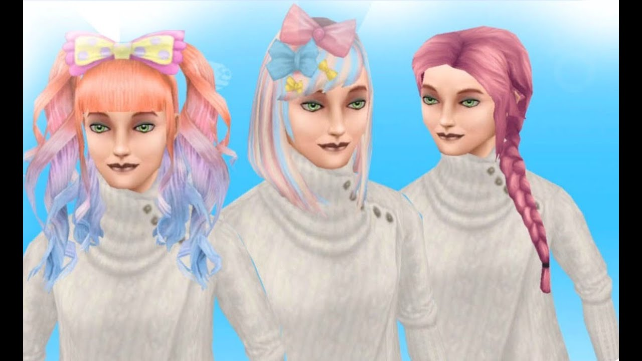The sims freeplay long hairstyle - Sims Freeplay Boutique Hair Event How To Collect All Of The Hair