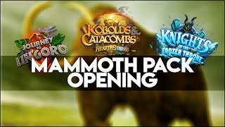 Hearthstone Year of the Mammoth Pack Info + 30 Pack Opening