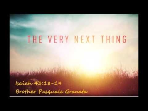 The very next thing