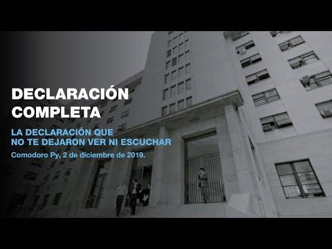 Cristina Fernández en su indagatoria