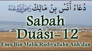 Sabah Duası 12 |  Enes Bin Malik (ra) 'dan | Allah Kabul etsin!