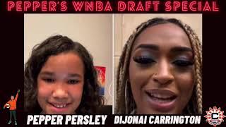 Pepper's WNBA Draft Special