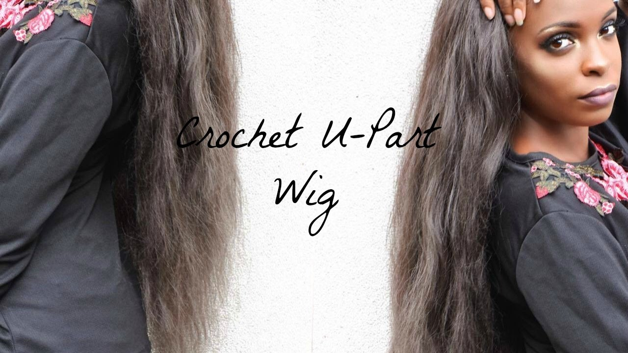 Crochet U-Part Wig Using Pre-Pulled Xpression Hair - YouTube