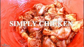 SIMPLY DELICIOUS NONE SPICY BAKED CHICKEN |Chef Ricardo Cooking