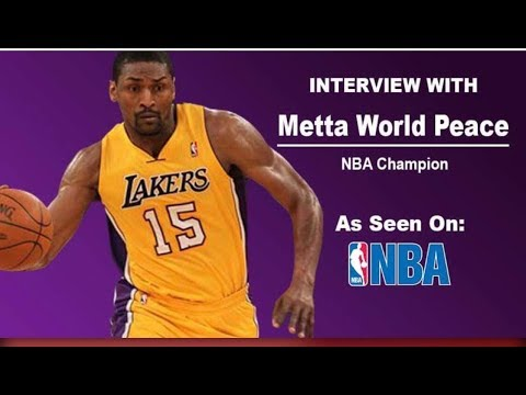 Pro Athletes to Investors W/ NBA Champ Metta World Peace