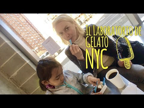 Il Laboratorio de Gelato New York Ludlow Street Lower East Side