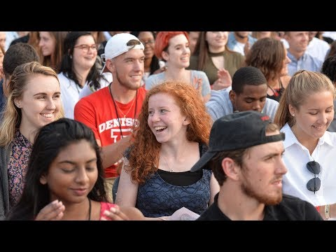 Denison University Class of 2021 Induction