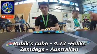 All Rubik's Cube World Records 2016 🏆