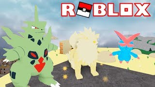 CHILL VICTINI CODE + ANGELIC ARCANINE + MEGA TYRANITAR!!  | Pokémon Fighters EX | ROBLOX