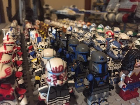 Building A Custom Star Wars/Superhero Army  Episode 5  THE FINALE! (Collab with TheWolfpack)