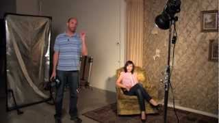 Using Hard Light for Portraits: Exploring Photography with Mark Wallace: Adorama Photography TV