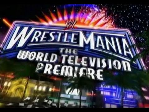 WrestleMania 24 The World Television Premiere