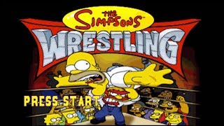 SGB Smackdown Sunday: The Simpsons Wrestling