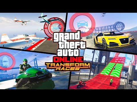 TRANSFORMER RACES!! (GTA 5 DLC)