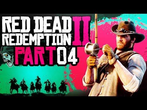 """Red Dead Redemption 2 - Part 4 """"CORNWALL"""" (Gameplay/Walkthrough)"""
