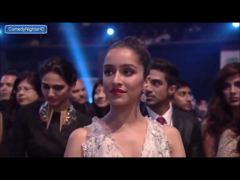 salman khan best epic performance at award show with shraddha karoop and jacquel