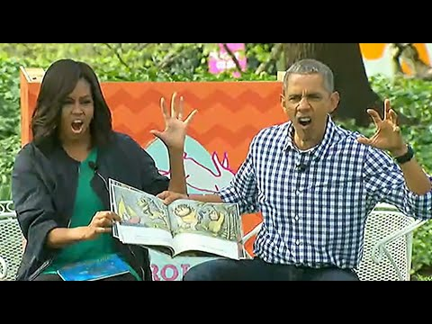 President Obama, Michelle Act Out 'Where the Wild Things Are'