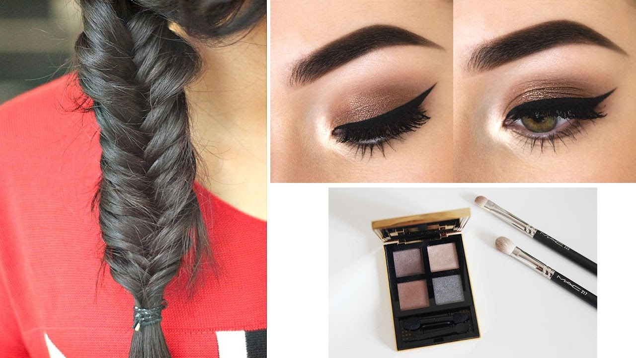 💄Makeup & Hairstyle Tips | 3 Easy Hairstyles To Do Yourself Step ...