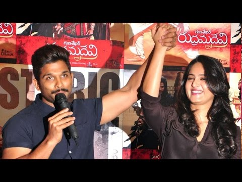 Rudhramadevi Movie Success Meet | Anushka,...