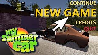ZACZYNAMY OD NOWA? - My Summer Car