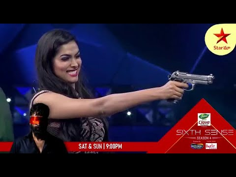 #Divi tho first firing lo #Akhil odipoyadu #SixthSense4 Sat & Sun at 9 PM on #StarMaa