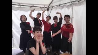Heart Friends社交ダンス倶楽部 ミニ大通お散歩祭りステージ