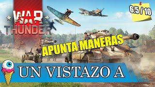 WAR THUNDER | Primeros Pasos | Gameplay Español |  | Aecio L
