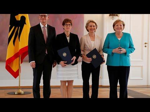 Átvette hivatalát az új német honvédelmi miniszter