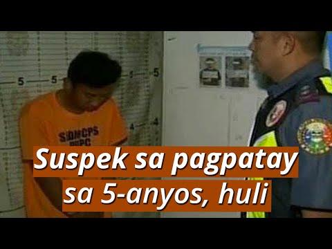 UB: Suspek sa pagdukot at pagpatay sa 5-anyos na batang babae, arestado