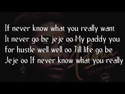 Download Adina   On my way lyrics video (Guysongz.com)