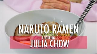MUKBANG/REVIEW: NARUTO RAMEN ft. JULIA CHOW