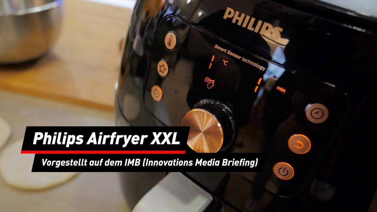 Philips Airfryer XXL: Neue Smart-Sensing-Technik