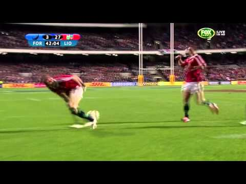 Jamie Heaslip Magnificent Performance vs Western Force 2013