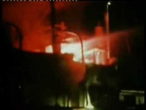 Radio North Sea - Fire Bombing 1971