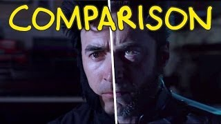 X-Men: Days of Future Past Trailer - Homemade Side by Side Comparison