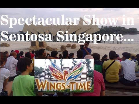 Wings Of TIme Sentosa || Singapore`s Attraction