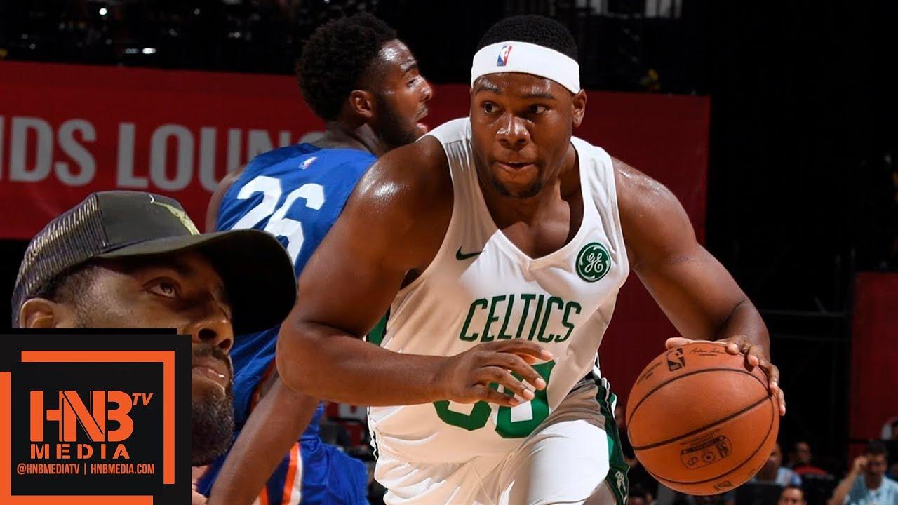 New York Knicks vs Boston Celtics Full Game Highlights   July 12   2018 NBA  Summer League 295a7025c
