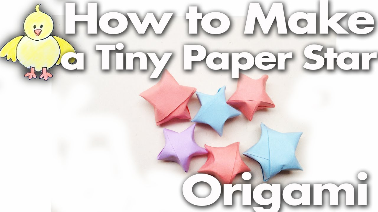 How to fold a tiny cute paper lucky star step by step easy how to fold a tiny cute paper lucky star step by step easy lesson origami youtube jeuxipadfo Choice Image