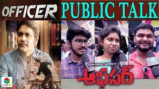 Officer Public Talk    Nagarjuna   Myra Sareen   RGV Latest Telugu Movie #Officer Review & Response