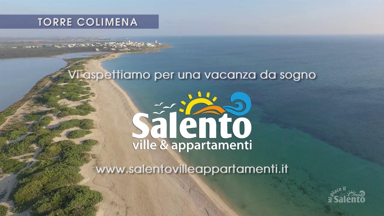 Spiaggia Della Salina Dei Monaci Di Torre Colimena Vista