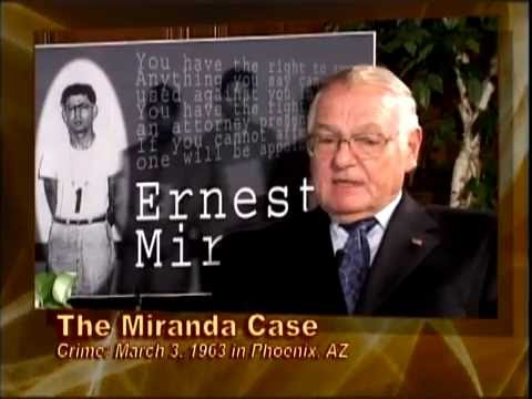 Learn about the Miranda Case - Phoenix Police Department