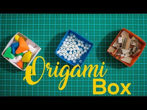 How to make a Box from circle paper |DIY paper craft|
