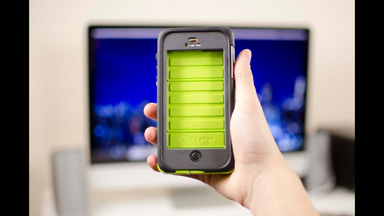 Otterbox Armor Series For Iphone 5 First Look Youtube
