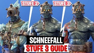 Unlock Snowfall Skin STUFE 3! | Fortnite Battle Royale