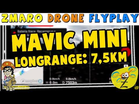 Mavic Mini Long Range 7,5Km Com Zmaro Fazendo Drone FlyPlay