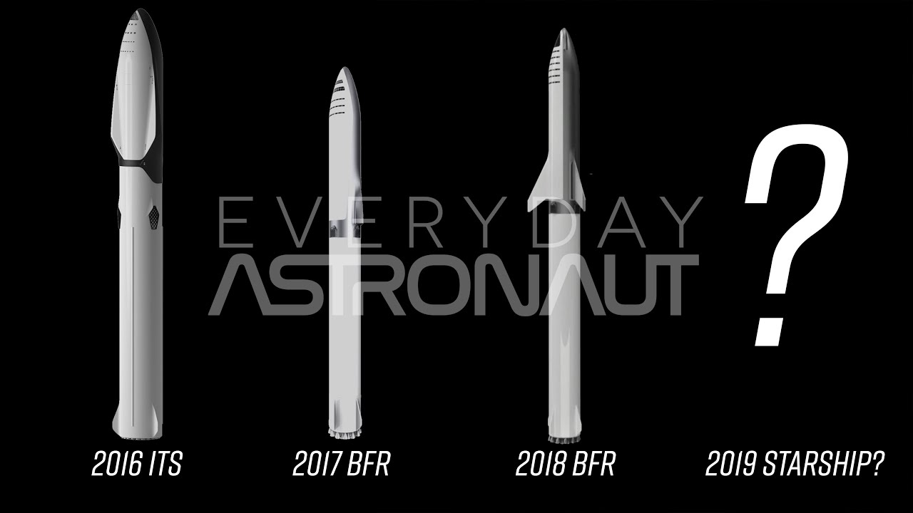 Why Does Spacex Keep Changing The Bfr The Evolution Of Bfr Video