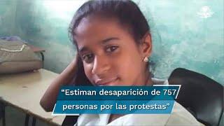 Gabriela Zequeira fue arrestada en la calle el día de las manifestaciones extraordinarias en la isla y sentenciada a prisión en un juicio de horas, dice su madre y un centro de apoyo legal