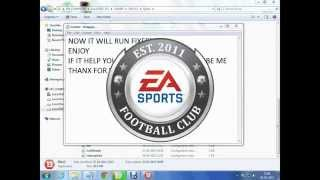 HOW TO FIX EROOR E0001 IN FIFA 13/14 {FIXED}